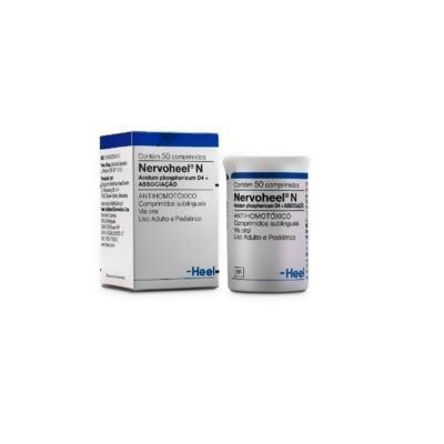 Nervoheel N - 50 comprimidos sublinguais