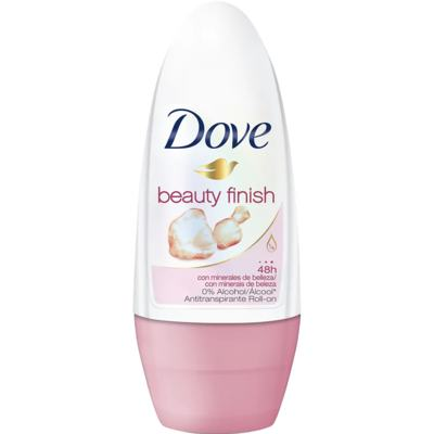 Desodorante Roll-On Dove - Feminino Beauty Finish   50mL