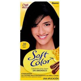 Tonalizante Soft Color - n°20, preto   125g