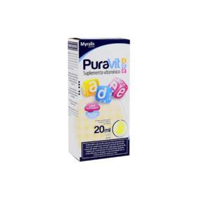 Puravit A D E Gotas - Tutti-Frutti | 20ml