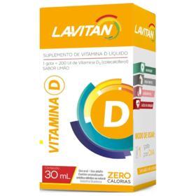 Lavitan Vitamina D - 1000 ui | 30 cápsulas