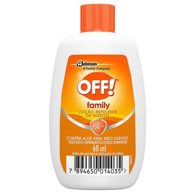 Repelente Off! Family - Loção | 60ml