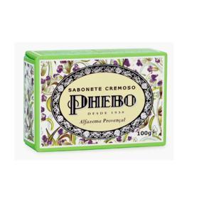 Sabonete Cremoso Phebo - Alfazema Provençal   100g