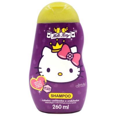 Shampoo  Hello Kitty Betulla Cabelos Cacheados e Ondulados - 260ml