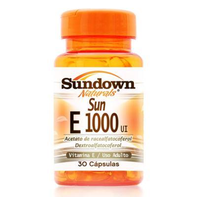 Sun E Sundown - 1000 UI | 30 cápsulas