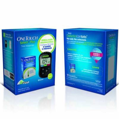 Tiras Reagentes OneTouch Select Plus - 50 unidades