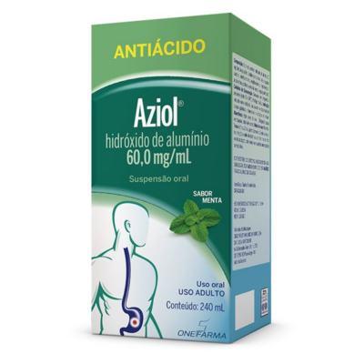 Aziol Suspensao Oral Menta - 60mg   240ml