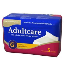 Protetor De Colchão Adultcare Descartável - 148X85cm | 5 unidades