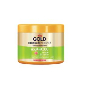 Niely Gold Máscara Tratamento Capilar Hidratante - Água de Coco   430g