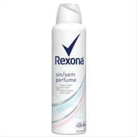 Desodorante Antitranspirante Rexona Women - Sem Perfume Aerosol   150ml
