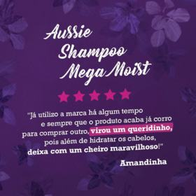 Shampoo Aussie Moist - 360ml