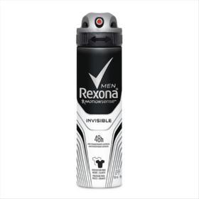 Desodorante Antitranspirante Rexona Men - Invisible Aerosol | 150ml