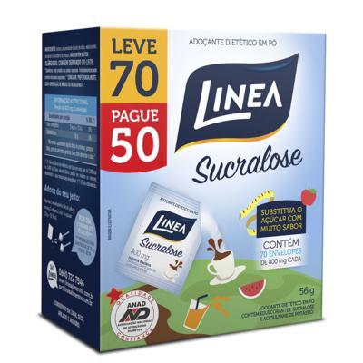 Adoçante em Pó Linea - Sucralose | Leve 70 Pague 50