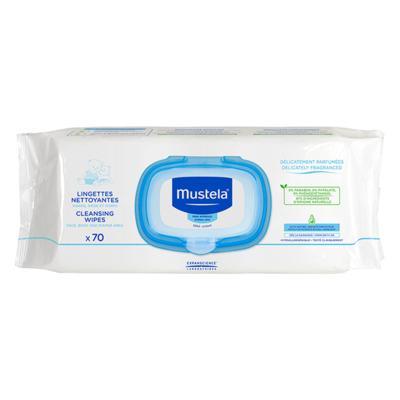 Lenço Umedecido  Mustela - Bebê | 70 unidades
