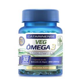 Complexo Vitamínico Ômega 3 - VEG | 30 cápsulas