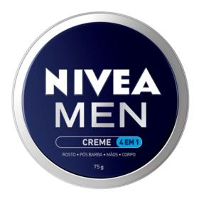 Creme Hidratante Masculino Nivea - Men 4 em 1   1 lata, 75g