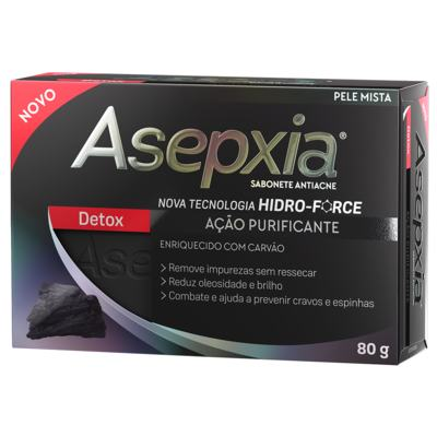Sabonete Barra Asepxia - Detox | 80g