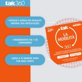 Suplemento Alimentar La Mobilità Tak 360 - 30 comprimidos revestidos