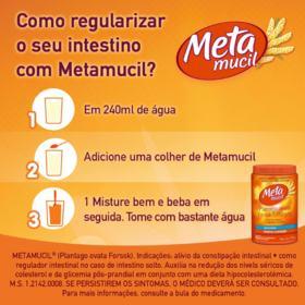 Metamucil Solúvel - Sabor Laranja | 174g