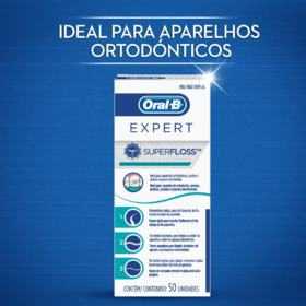 Fio dental Oral-B - SuperFloss | 50m