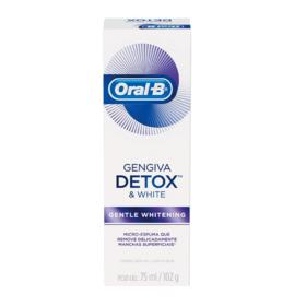 Creme Dental Oral-B Gengiva e Esmalte - Repair Gentle Whitening | 102g