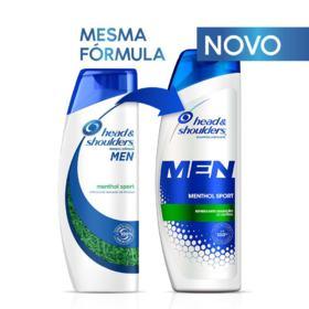 Shampoo Head & Shoulders Men - Menthol Sport   200ml