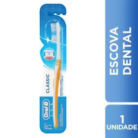 Escova Dental Oral-B Classic - Macia   1 Unidade