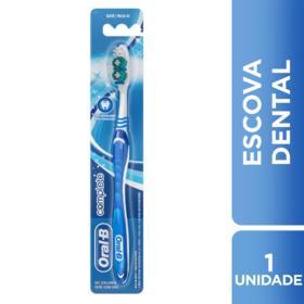Escova Dental Oral-B Complete - Macia 40 | 1 unidade