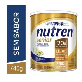 Suplemento Alimentar Nutren Senior - Sem Sabor | 740g