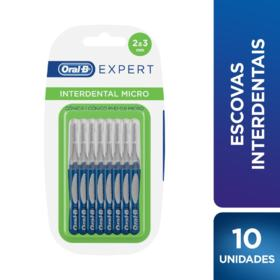 Escovas Interdentais Oral-B Expert - Interdental Micro   10 Unidades