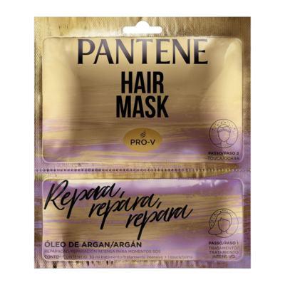 Máscara De Tratamento Pantene - Reparação | 2 unidades | Sachê + Touca