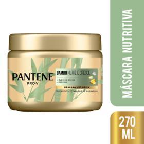 Máscara de Tratamento Pantene - Bambu | 270ml