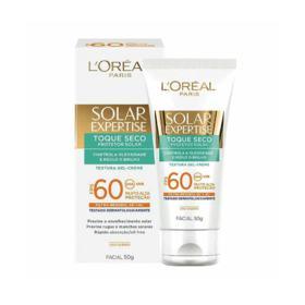 Protetor Solar Expertise Facial FPS 60 - Toque Seco   50g