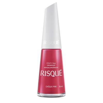 Esmalte Risqué Rosas Cremoso - Choque Pink | 8ml