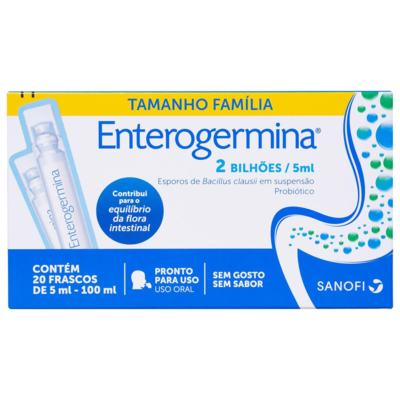 Enterogermina - 20 flaconetes 5ml