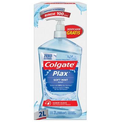 Enxaguante Bucal Colgate Plax - Soft Mint | 2000ml
