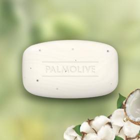 Sabonete em Barra Palmolive Naturals Esfoliação Suave - Coco e algodão | 85g