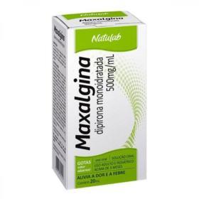 Maxalgina Solução Oral - 500mg/mL | 20ml
