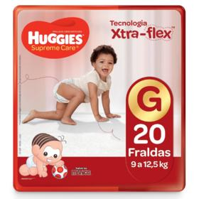 Fralda Huggies Supreme Care - G | 20 unidades