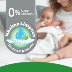 Lenços Umedecidos Huggies Turma da Mônica - Max Clean | 48 unidades