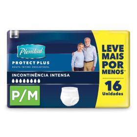 Roupa Íntima Plenitud Protect Plus - P/M   16 unidades
