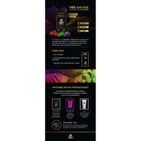 Preservativo Camisinha Olla 3 Sabores - Morango, Menta E Uva | 9 unidades