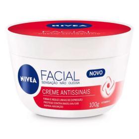Creme Facial Nivea - Antissinais | 100g