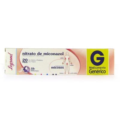 Creme Dermatologico Nitra.Micona Genérico Legrand - 20mg | 28g