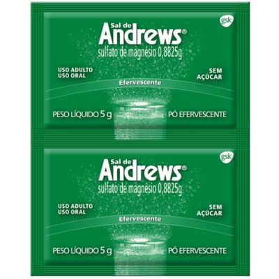 Antiácido Sal de Andrews - 2 envelopes de 5g efervescente