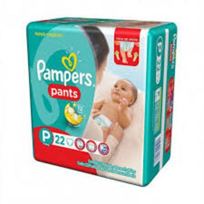 Fralda Pampers Pants - P | 22 unidades