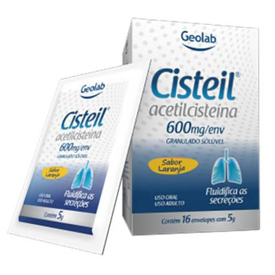 Cisteil - 600mg | 16 envelopes de 5g