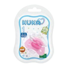Chupeta Ortodôntica Kuka Light Plus - Nº1 Rosa | 1 unidade