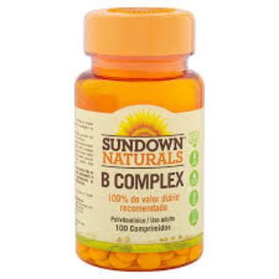 Sundown Naturals - Complex B | 100 comprimidos
