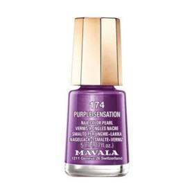 Esmalte Mavala Mini Color Cintilante - 174 - Purple Sensation | 5ml